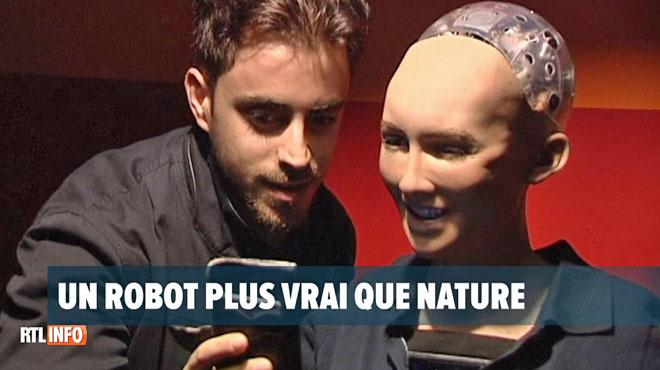 Voici Sophia, le premier robot au monde à recevoir une citoyenneté: ses capacités sont impressionnantes