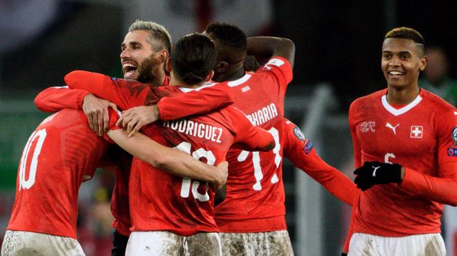 Coupe du Monde 2018: la Suisse et la Croatie ont gagné leurs barrages