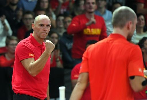 Coupe Davis: la Belgique emmenée par David Goffin contre la France en finale