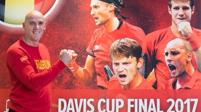 Voici la sélection des tennismen belges pour la finale de la Coupe Davis