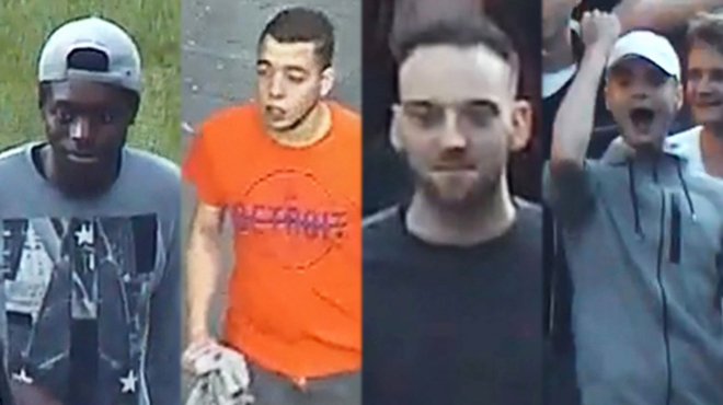 Émeutes à Liège: pouvez-vous identifier l'un de ces 10 individus?