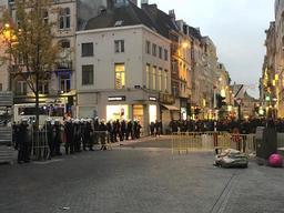 Emeutes à Bruxelles: deux personnes interpellées et citées à comparaitre le 5 janvier prochain