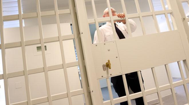 Le nombre d'internés dans les prisons a chuté en quelques années