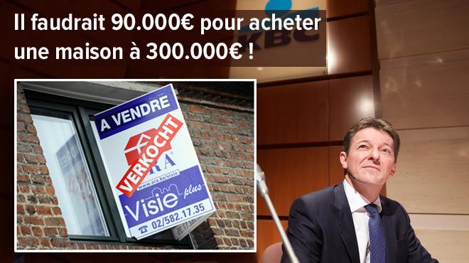 Une grande banque belge veut durcir les conditions d'octroi d'un crédit hypothécaire: avec quelles conséquences pour un acheteur moyen?