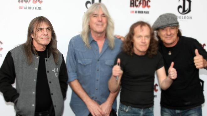 Malcolm Young, co-fondateur et guitariste du groupe AC/DC est mort