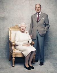 La reine elizabeth ii et le prince philip f tent leurs noces de platine rtl info - 65 ans de mariage noce de quoi ...