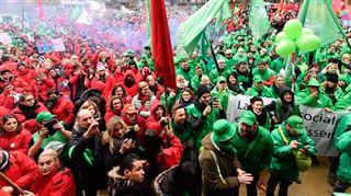 Les syndicats contre le gouvernement Michel- Cette action à Liège n'est qu'un début (photos) 3