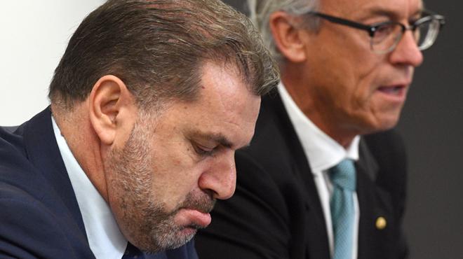 Ange Postecoglou démissionne de son poste de sélectionneur de l'Australie