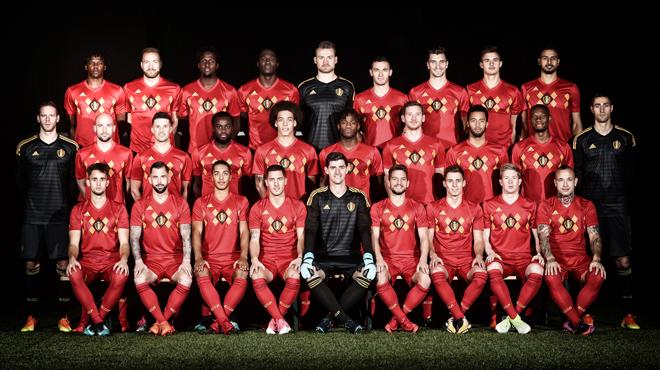 Quatre Diables rouges parmi les nommés à l'équipe Uefa de l'année