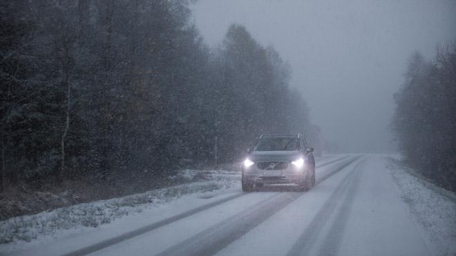 Prévisions météo: voici où la neige va tomber les deux prochaines nuits