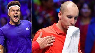 Finale de la Coupe Davis- Steve Darcis impuissant face à Jo-Wilfried Tsonga, la France égalise 2