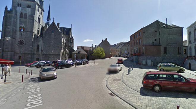 Une femme retrouvée morte avec trois balles dans le corps dans sa voiture sur la place de Walcourt
