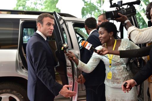Visite de Macron au Burkina: Le gouvernement appelle au calme