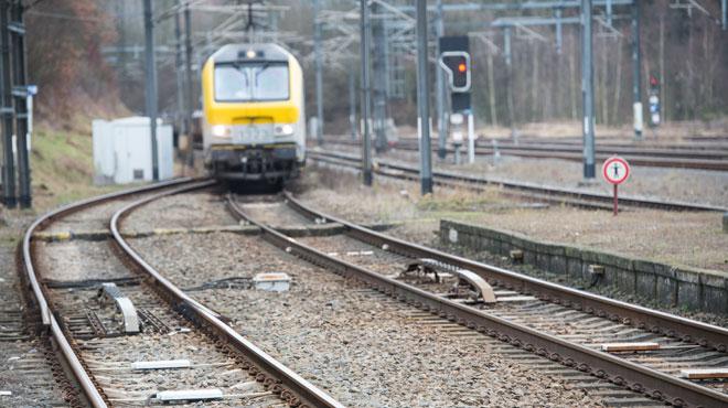 La circulation des trains a repris ce matin — Binche