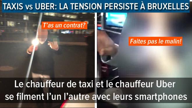 TENSION à Bruxelles: un chauffeur Uber, qui conduisait des diplomates mexicains, arrêté par un taximan