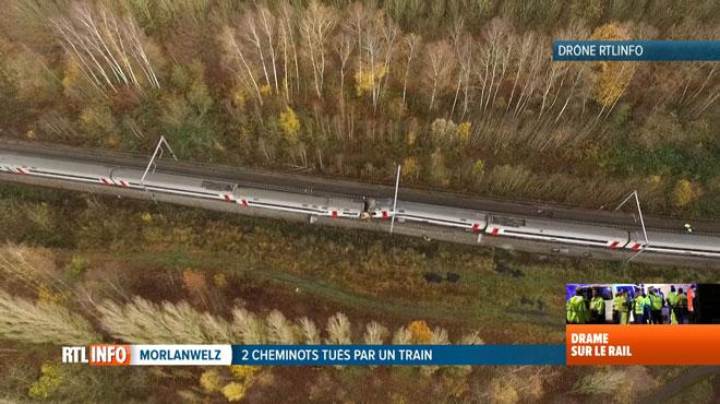 Accident de train à Morlanwelz:les réparations peuvent commencer, priorité à la ligne La Louvière - Mons