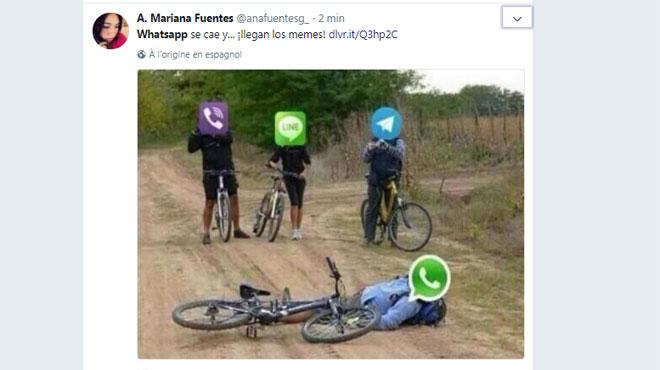 L'application de messagerie WhatsApp touchée par une panne