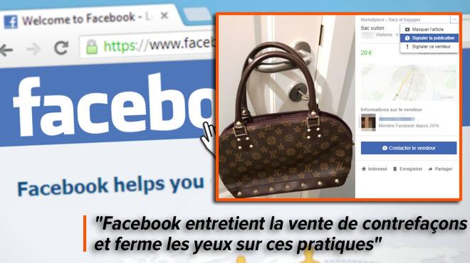 Le 'Marketplace' de Facebook permet d'acheter et de vendre en seconde main: Laurent signale