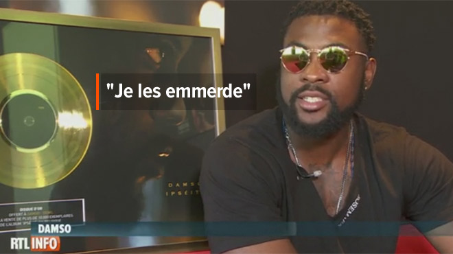 Polémique autour du futur hymne des Diables Rouges: le rappeur Damso s'explique encore... avec ses mots