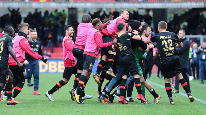 Benevento arrache son premier point — Serie A