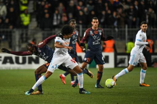 L1 : Tenu en échec à Montpellier, Marseille quitte le podium