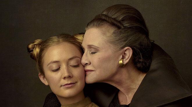 La mort de Carrie Fisher a provoqué une terrible perturbation et les actrices veulent lui faire honneur