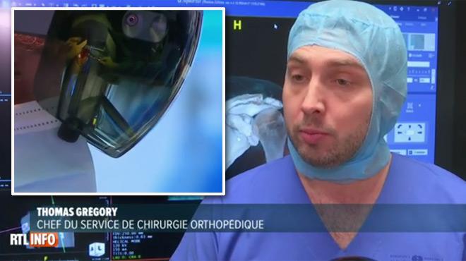 Avec ces lunettes de réalité augmentée, des chirurgiens parisiens se dotent