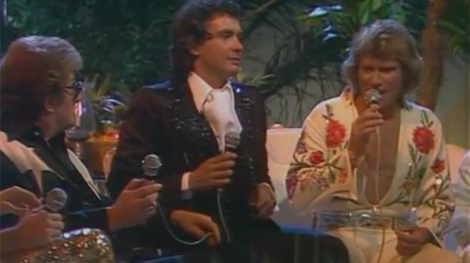 Cette séquence mythique où Johnny chante le blues avec Michel Sardou et Eddy Mitchell (vidéo)