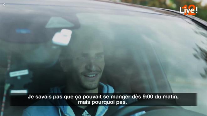 Le PSG, ses loisirs, son alimentation, sa musique: Meunier se confie sur la route de l'entraînement (vidéo)