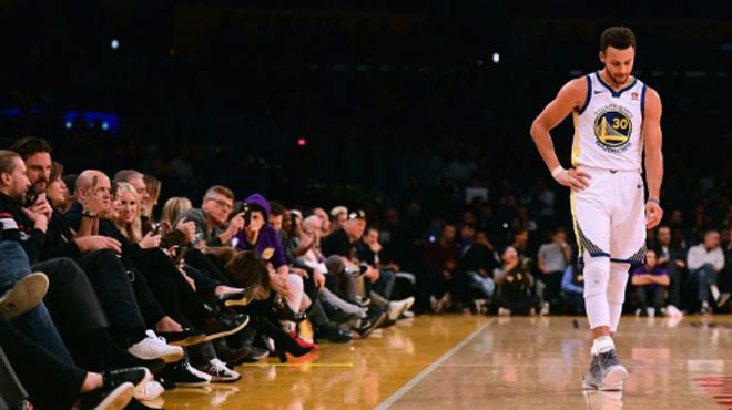 NBA: la durée d'indisponibilité de Stephen Curry est connue