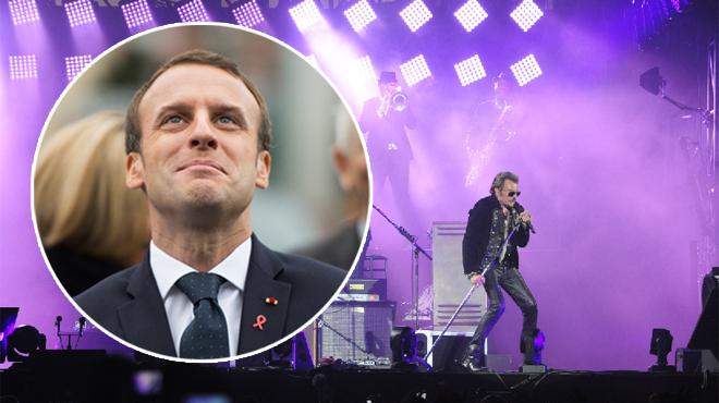 Emmanuel Macron a glissé plus de 20 références à des chansons de Johnny dans son texte d'hommage: les retrouverez-vous ?
