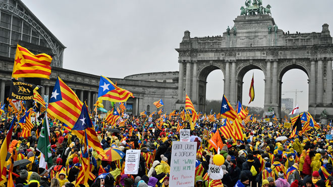 Manifestation à Bruxelles: