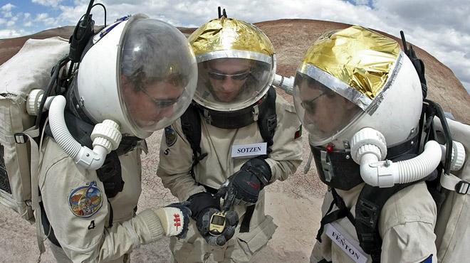 Huit scientifiques de l'UCL vivront une semaine sur Mars... dans l'Utah (photos)