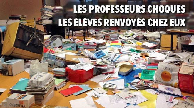 Le Collège Saint-François d'Assise de Tubize saccagé ce matin: