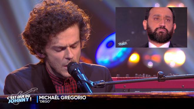 L'émouvante prestation de Michaël Gregorio en hommage à Johnny: Cyril Hanouna au bord des larmes