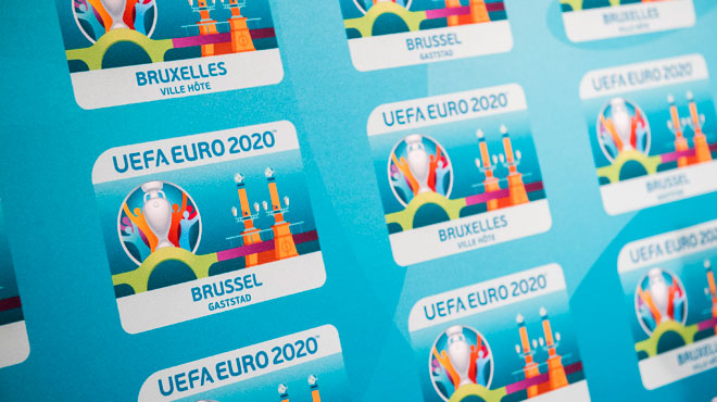 FIFA Euro 2020: l'UEFA retire à Bruxelles ses quatre matches