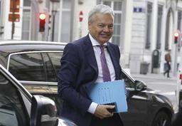 On va pouvoir entamer les discussions sur les relations commerciales, se réjouit Didier Reynders