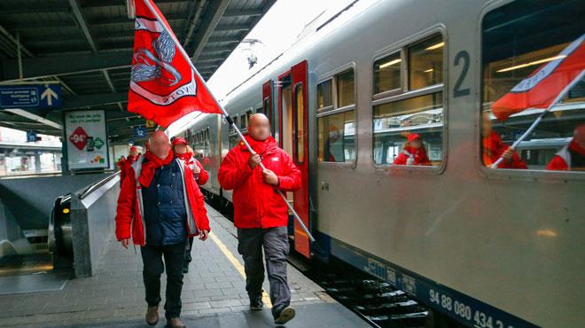 Préavis de grève des cheminots CGSP pour le 19 décembre
