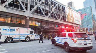 Explosion à New York près de Times Square- le suspect arrêté, quatre blessés 4