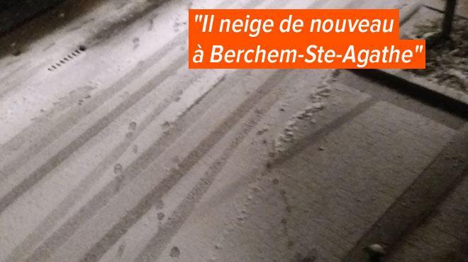 La neige n'a pas dit son dernier mot- les routes se recouvrent à nouveau d'un tapis blanc ce soir, le point sur la situation 1