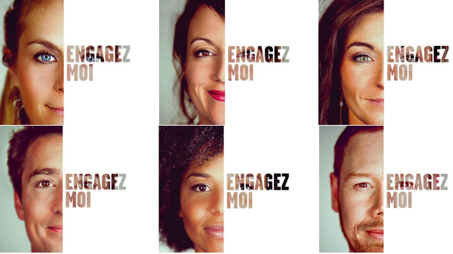 Pour trouver du travail, ces six Bruxellois ont eu l'idée très originale de louer les panneaux publicitaires près de l'employeur de leurs rêves
