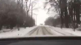 Philippe Gilbert surpris par la neige dans le Bosberg, et c'est plutôt amusant (vidéo) 5