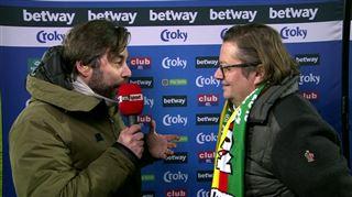 Marc Coucke, le président d'Ostende, avec Steph' Pauwels 3