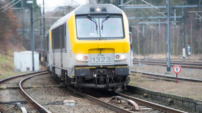 Une personne percutée par un train à Morlanwelz