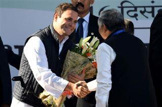 Inde- l'héritier Rahul Gandhi prend la tête du parti du Congrès
