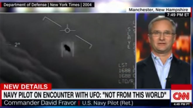 Ce pilote est persuadé d'avoir vu un OVNI: