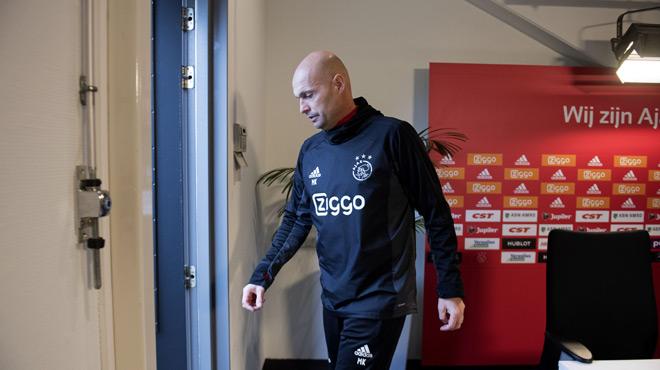 L'entraineur Marcel Keizer démis de ses fonctions — Ajax Amsterdam
