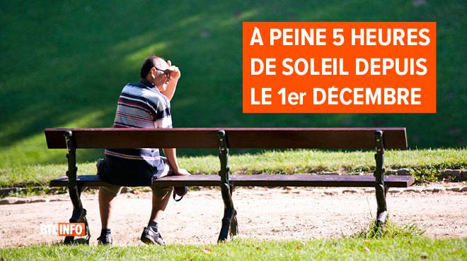 Il est où le soleil? S'il ne revient pas, ce mois de décembre pourrait être le plus sombre de toute l'histoire belge