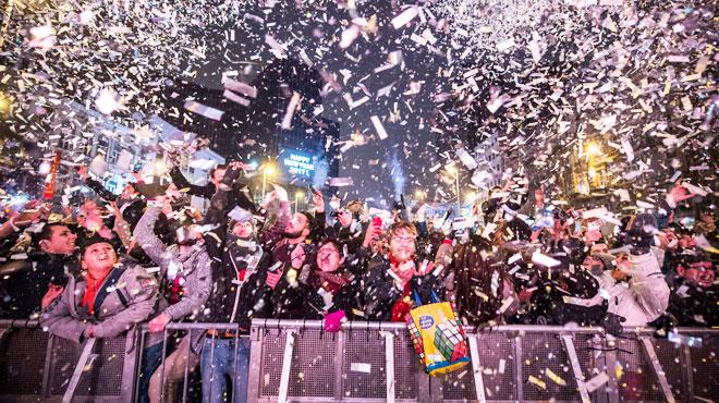 Voici le programme des festivités du Nouvel an au Heysel