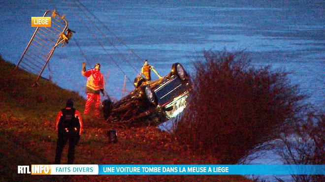 Une femme enceinte de 9 mois qui apprenait à conduire disparaît dans la Meuse à Liège:
